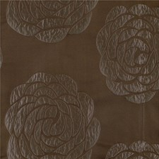 Brown Botanical Drapery and Upholstery Fabric by Kravet