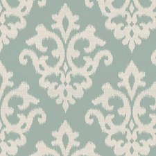 Seaglass Ikat Drapery and Upholstery Fabric by Kravet