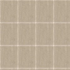Beige Plaid Drapery and Upholstery Fabric by Kravet