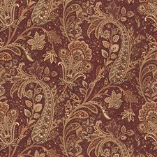 Fig Paisley Drapery and Upholstery Fabric by Kravet