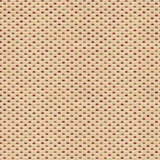 Beige/Red/Gold Small Scales Drapery and Upholstery Fabric by Kravet