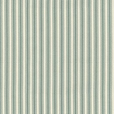Green/Blue/White Stripes Drapery and Upholstery Fabric by Kravet