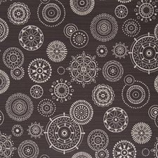 Graphite Geometric Drapery and Upholstery Fabric by Fabricut