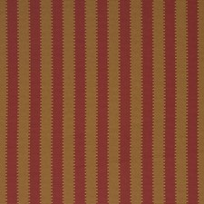 Russet Stripes Drapery and Upholstery Fabric by Fabricut