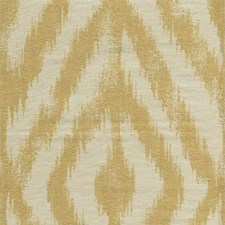 Beige/Yellow Ikat Drapery and Upholstery Fabric by Kravet
