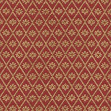 Burgundy/Red/Beige Botanical Drapery and Upholstery Fabric by Kravet