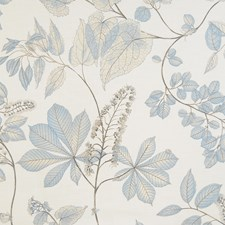 Cornflower Leaves Drapery and Upholstery Fabric by Fabricut