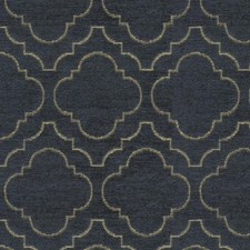 Blue/Yellow Bargellos Drapery and Upholstery Fabric by Kravet