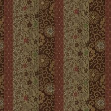 Copper Botanical Drapery and Upholstery Fabric by Kravet