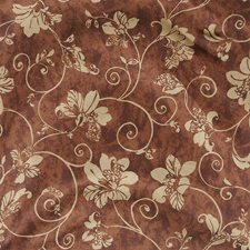 Java Floral Drapery and Upholstery Fabric by Fabricut