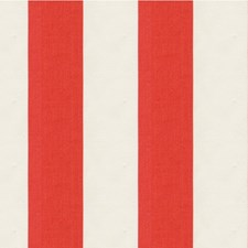 White/Orange Stripes Drapery and Upholstery Fabric by Kravet