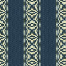 Sapphire Ikat Drapery and Upholstery Fabric by Kravet