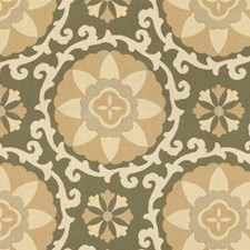 Seagrass Botanical Drapery and Upholstery Fabric by Kravet