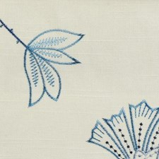 Blue Topaz Drapery and Upholstery Fabric by Duralee