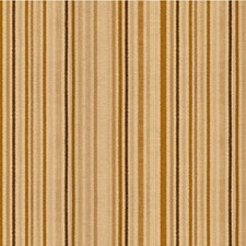 Gold Play Stripes Drapery and Upholstery Fabric by Kravet
