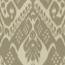 White/Grey Ikat Drapery and Upholstery Fabric by Kravet