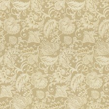 Beige/White Jacobeans Drapery and Upholstery Fabric by Kravet