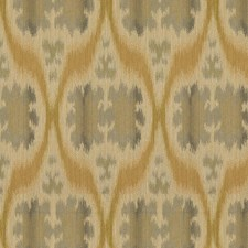 Blue/Beige Ikat Drapery and Upholstery Fabric by Kravet
