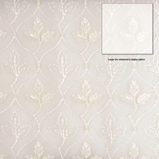 Champagne Embroidery Drapery and Upholstery Fabric by Fabricut