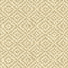 Beige/Yellow Diamond Drapery and Upholstery Fabric by Kravet