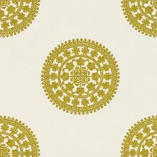 Citron Dots Drapery and Upholstery Fabric by Kravet