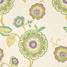 Orchid Botanical Drapery and Upholstery Fabric by Kravet