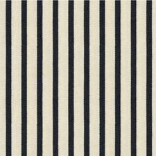 Black Ink Stripes Drapery and Upholstery Fabric by Kravet