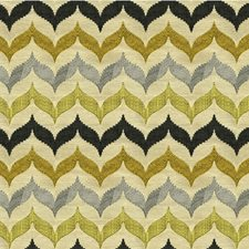 Citron Bargellos Drapery and Upholstery Fabric by Kravet