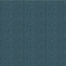 Blue Herringbone Drapery and Upholstery Fabric by Kravet
