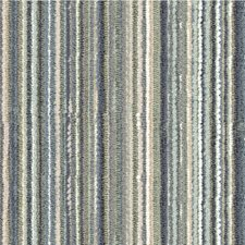 Teal/Beige/Grey Stripes Drapery and Upholstery Fabric by Kravet