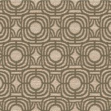 Beige Geometric Drapery and Upholstery Fabric by Kravet