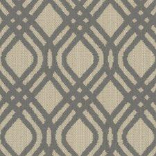 Light Blue/Beige Geometric Drapery and Upholstery Fabric by Kravet