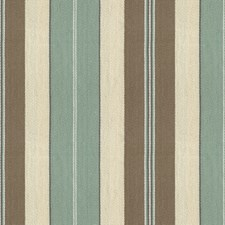 Light Blue/Taupe/Beige Stripes Drapery and Upholstery Fabric by Kravet