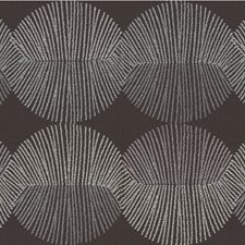 Hypnotic Geometric Drapery and Upholstery Fabric by Kravet
