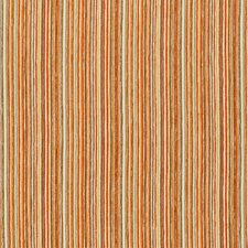 Orange/Beige/Light Grey Stripes Drapery and Upholstery Fabric by Kravet