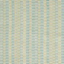 Light Blue/Camel/Spa Stripes Drapery and Upholstery Fabric by Kravet