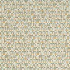 Light Blue/Camel/Grey Small Scales Drapery and Upholstery Fabric by Kravet