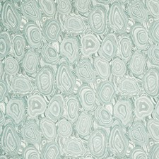 Teal/Light Blue/White Geometric Drapery and Upholstery Fabric by Kravet