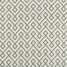 Light Grey/Beige/Grey Lattice Drapery and Upholstery Fabric by Kravet