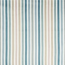 Blue/Grey/Taupe Stripes Drapery and Upholstery Fabric by Kravet