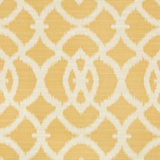 Camel/Beige Ikat Drapery and Upholstery Fabric by Kravet