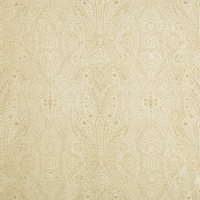 Beige/Gold Paisley Drapery and Upholstery Fabric by Kravet