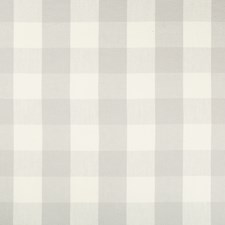 Light Grey/Ivory Check Drapery and Upholstery Fabric by Kravet