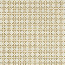 Camel Geometric Drapery and Upholstery Fabric by Kravet