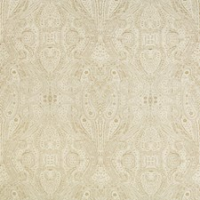 Ivory/Beige/Gold Paisley Drapery and Upholstery Fabric by Kravet