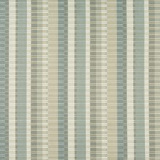 Light Grey/Light Blue/Ivory Ottoman Drapery and Upholstery Fabric by Kravet