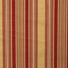 Antique Red Stripes Drapery and Upholstery Fabric by Fabricut