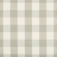 Pewter Plaid Drapery and Upholstery Fabric by Kravet
