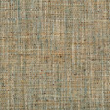 Rust/Yellow/Light Blue Solids Drapery and Upholstery Fabric by Kravet