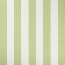 Celery/White Stripes Drapery and Upholstery Fabric by Kravet